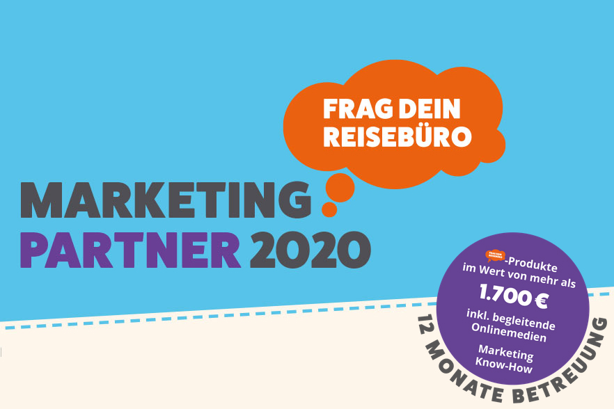 Frag Dein Reisebüro Marketingpartner 2020